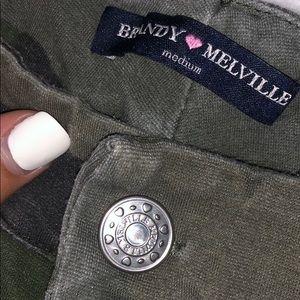 Brandy Melville Camo Pants!